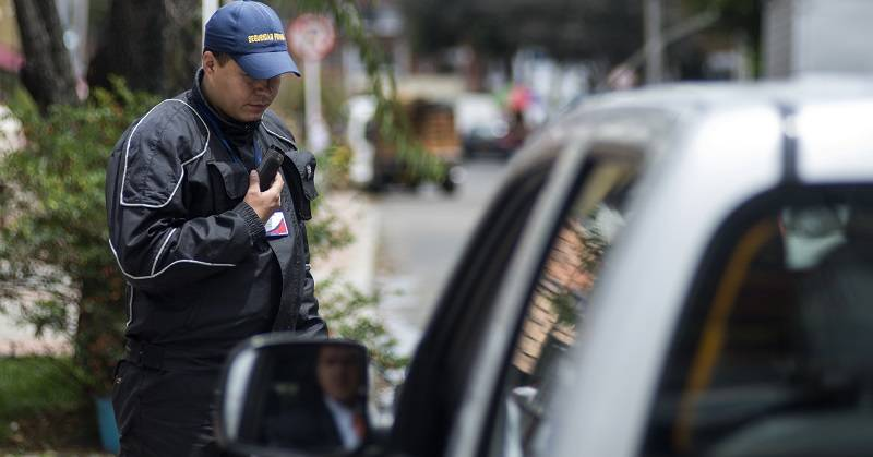 Seguridad Privada  Guarda de Seguridad Especial Seguridad Bogota 26 de Agosto de 2015 Foto David Amado Pintor Especiales Sectoriales